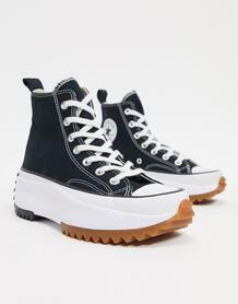 Черные походые кеды Run Star-Черный Converse 9489323
