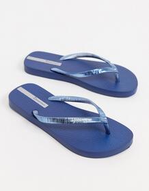 Темно-синие шлепанцы -Темно-синий Ipanema 9383404