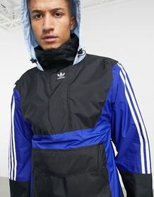 Синяя лыжная куртка-анорак 10k-Голубой adidas Snowboarding 11004098