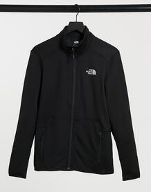 Черная флисовая куртка на молнии Quest-Черный North face 11165241