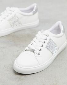 Белые кроссовки со шнуровкой Jacuzzi-Белый Carvela 9949913