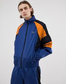 Темно-синяя спортивная куртка в стиле ретро L!VE nylon-Темно-синий Lacoste 8027207