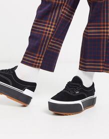 Черные замшевые кроссовки Era-Черный VANS 9356733