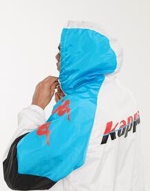 Белая куртка на молнии -Белый Kappa 9598681