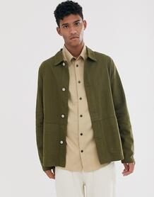 Куртка цвета хаки -Зеленый ASOS DESIGN 8706895