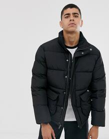 Черная дутая куртка - Olaton-Черный Dickies 8890666