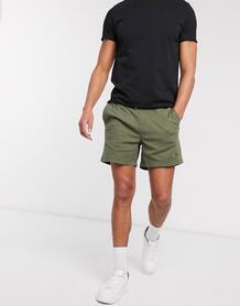 Шорты чиносы цвета хаки со шнурком Intelligence-Зеленый Jack & Jones 10477579