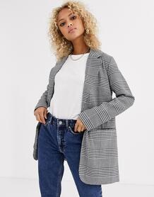 Строгий пиджак в клетку -Мульти Parisian 9082787