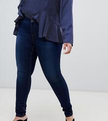 Синие моделирующие джинсы скинни -Синий Vero Moda Curve 7642011