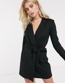 Платье-пиджак мини -Черный French Connection 8623320