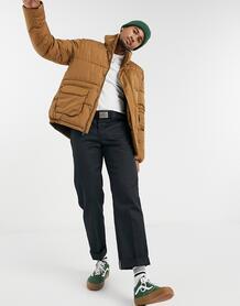 Коричневая дутая куртка Olaton-Коричневый Dickies 10497865