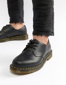 Черные туфли с 3 парами люверсов Оriginal 11838002-Черный цвет Dr. Martens 3937241