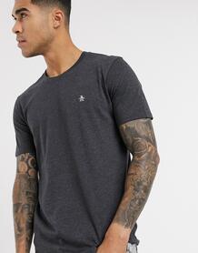 Серая футболка с логотипом -Серый Original Penguin 9489777