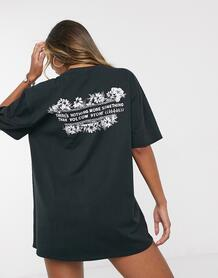 Черная футболка X Coco Ho-Черный Volcom 9610564