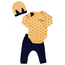 Комплект для девочки (боди, брюки, шапка) MW15298 MINI WORLD 1065795