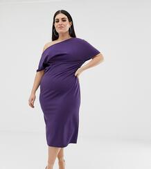 Платье-футляр ASOS DESIGN Curve-Фиолетовый цвет Asos Curve 7960606