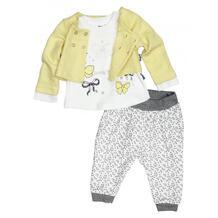 Комплект для девочки (жакет, лонгслив, брюки) MW15266 MINI WORLD 1020209