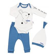 Комплект для мальчика (боди, брюки, шапка) MW15291 MINI WORLD 1065764