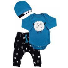 Комплект для мальчика (боди, брюки, шапка) MW15290 MINI WORLD 1065729