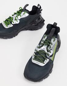Антрацитовые кроссовки React Vision Premium 3M-Серый Nike 10132423