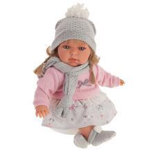 Кукла Ноэлия в розовом озвученная 37 см Munecas Antonio Juan 1035769