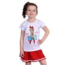 Комплект футболка/юбка Счастливая малинка 13638610