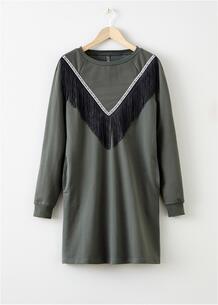 Платье с бахромой bonprix 261768580