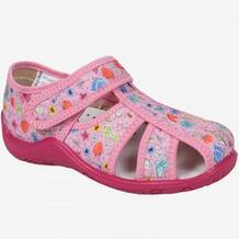 Сандалии текстильные Kapika, розовый MOTHERCARE 642707