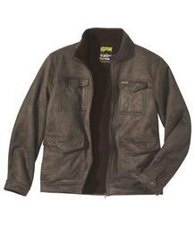 Куртка из Искусственной Замши и Шерпы AFM 3451963