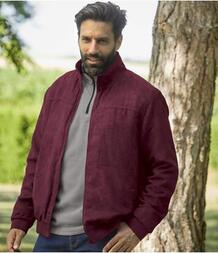 Куртка из Искусственной Замши с Флисовой Подкладкой AFM 3369820