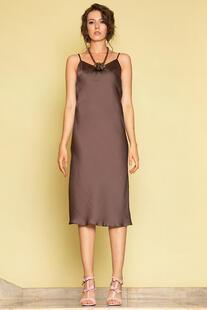 Шелковое платье комбинация Me Today 12641108