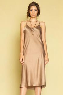 Шелковое платье комбинация Me Today 12641109