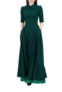 Платье комбинированное, отрезное по линии талии GREYCAT 7781551