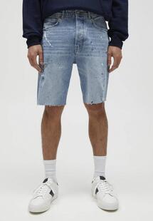 Шорты джинсовые Pull&bear IX001XM00AXRE400