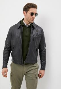 Куртка кожаная Blauer usa RTLAAA888202INXXL