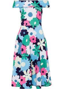 Платье с открытыми плечами bonprix 266939540