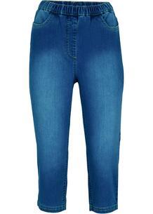 Капри джинсовые bonprix 267075074