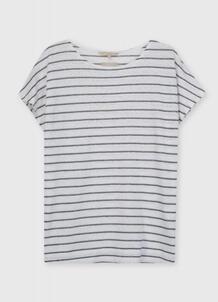 Льняная футболка O`Stin 185648200299