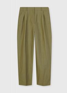 Льняные брюки со складками O`Stin 185650160299