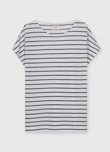 Льняная футболка O`Stin 185648230299