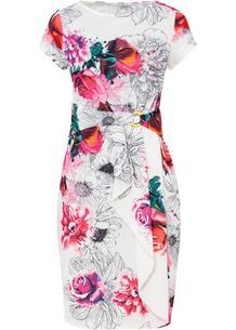 Платье с воланом bonprix 266999918