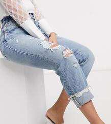 Синие джинсы в винтажном стиле -Синий River Island Petite 9737112