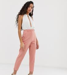Розовые брюки-сигареты -Розовый Miss Selfridge Petite 8318516