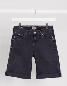 Черные джинсовые шорты-бермуды -Черный TOMMY JEANS 9902455