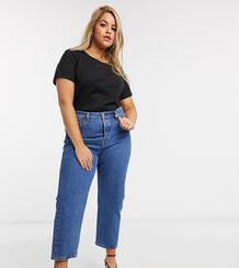 Синие джинсы до щиколотки 501-Синий Levi's Plus 9522598