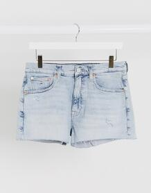 Короткие джинсовые шорты -Синий TOMMY JEANS 9902471