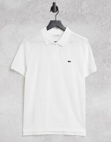 Белая классическая футболка-поло -Белый Lacoste 11266441