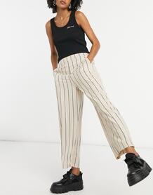 Широкие брюки в полоску -Мульти VILA 10590805