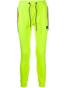 спортивные брюки кроя слим с заклепками PHILIPP PLEIN 153041048876