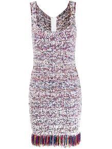 платье с бахромой BALMAIN 147861905156